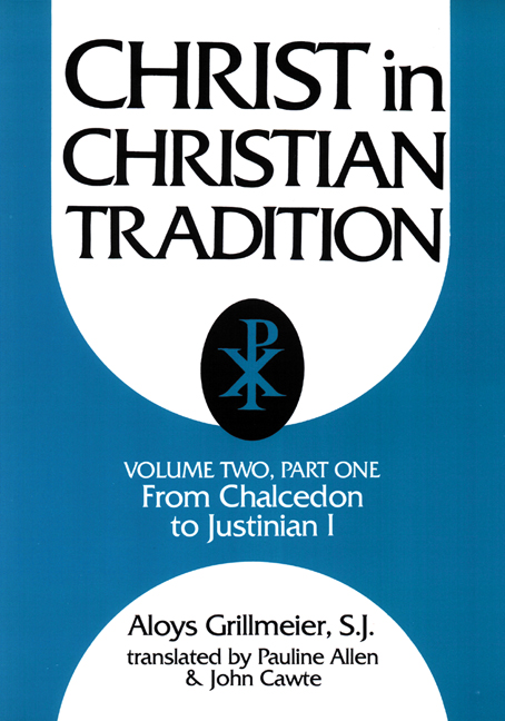 Christ in Christian Tradition, Volume Two