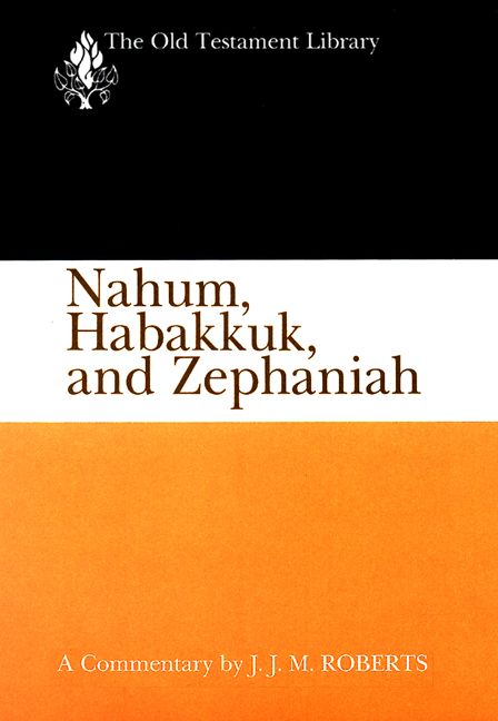 Nahum, Habakkuk, and Zephaniah (1991)