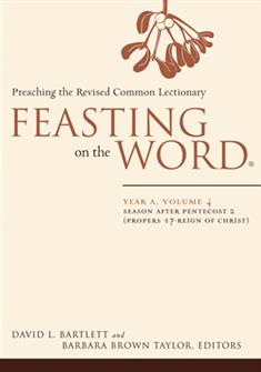 Feasting on the Word: Year A, Volume 4