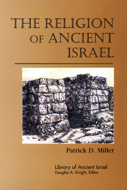 The Religion of Ancient Israel