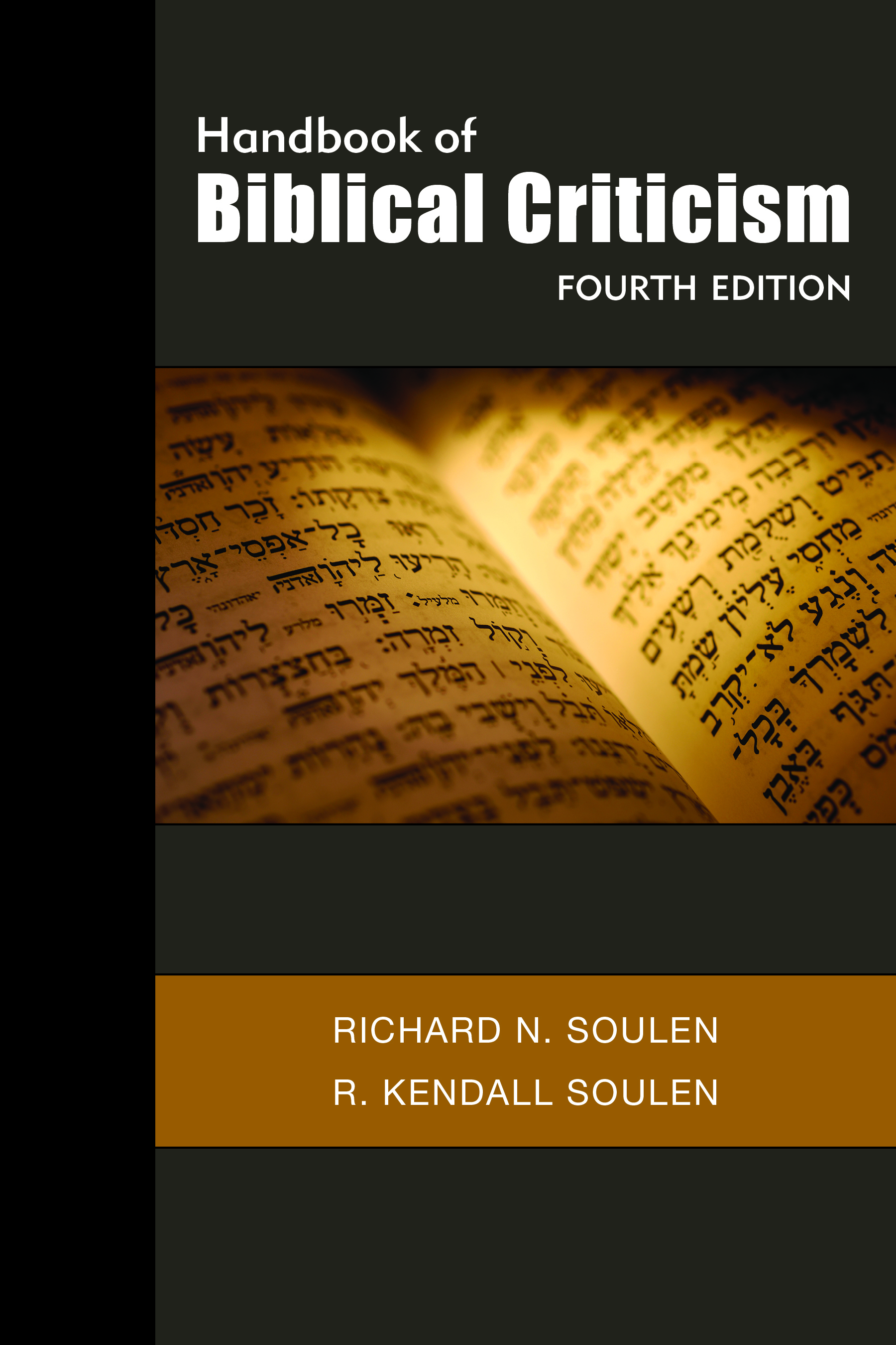 Handbook of Biblical Criticism, Fourth Edition