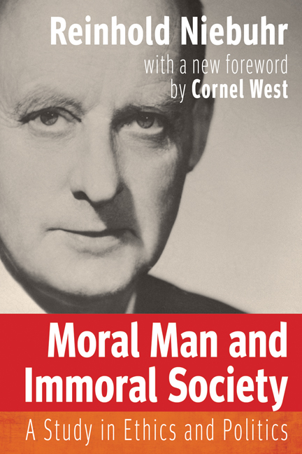 Moral Man and Immoral Society