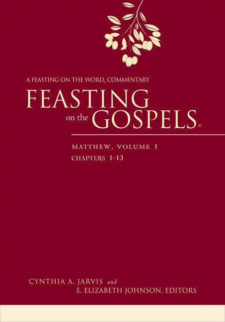 Feasting on the Gospels--Matthew, Volume 1