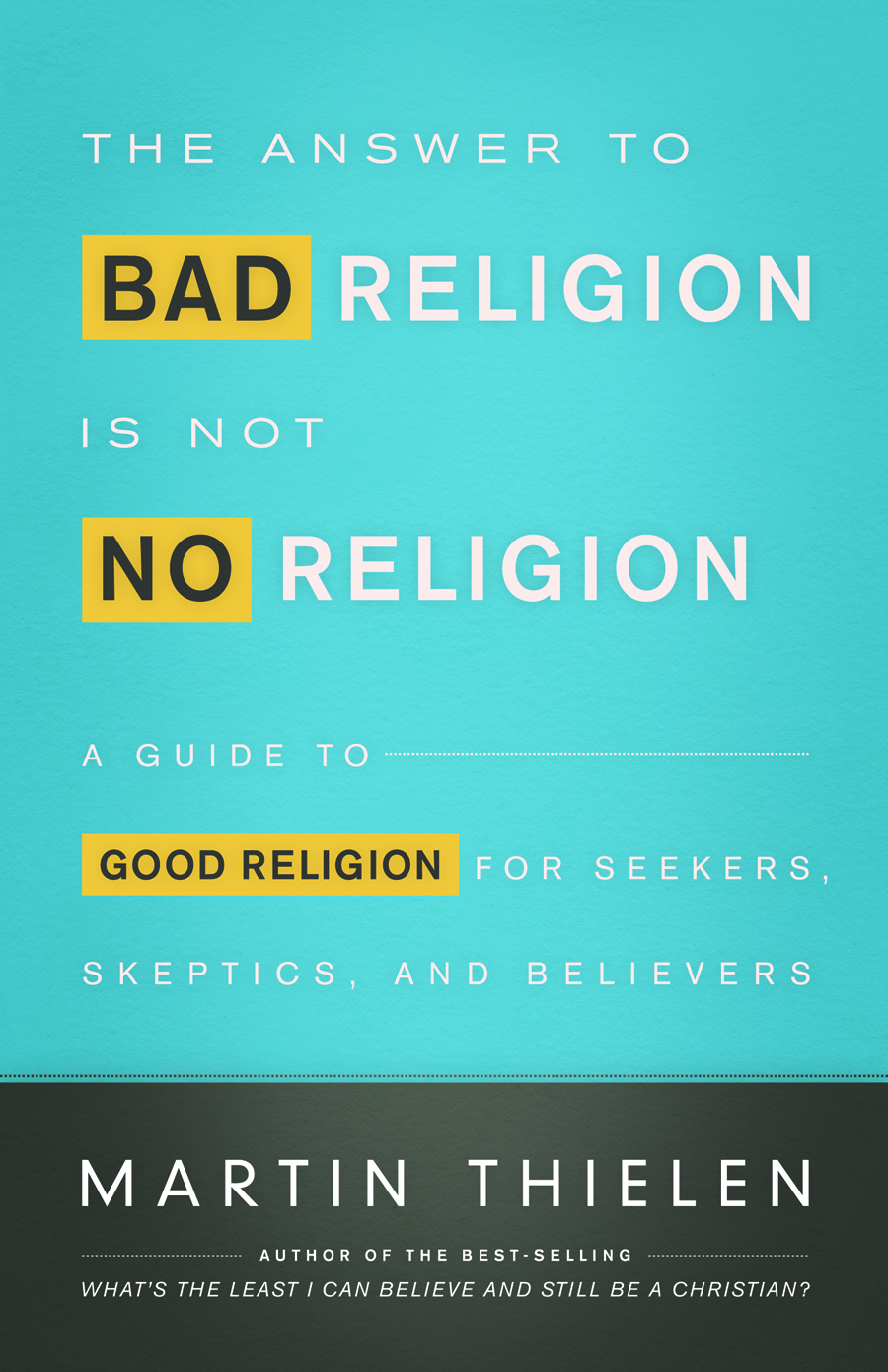 The Answer to Bad Religion Is Not No Religion