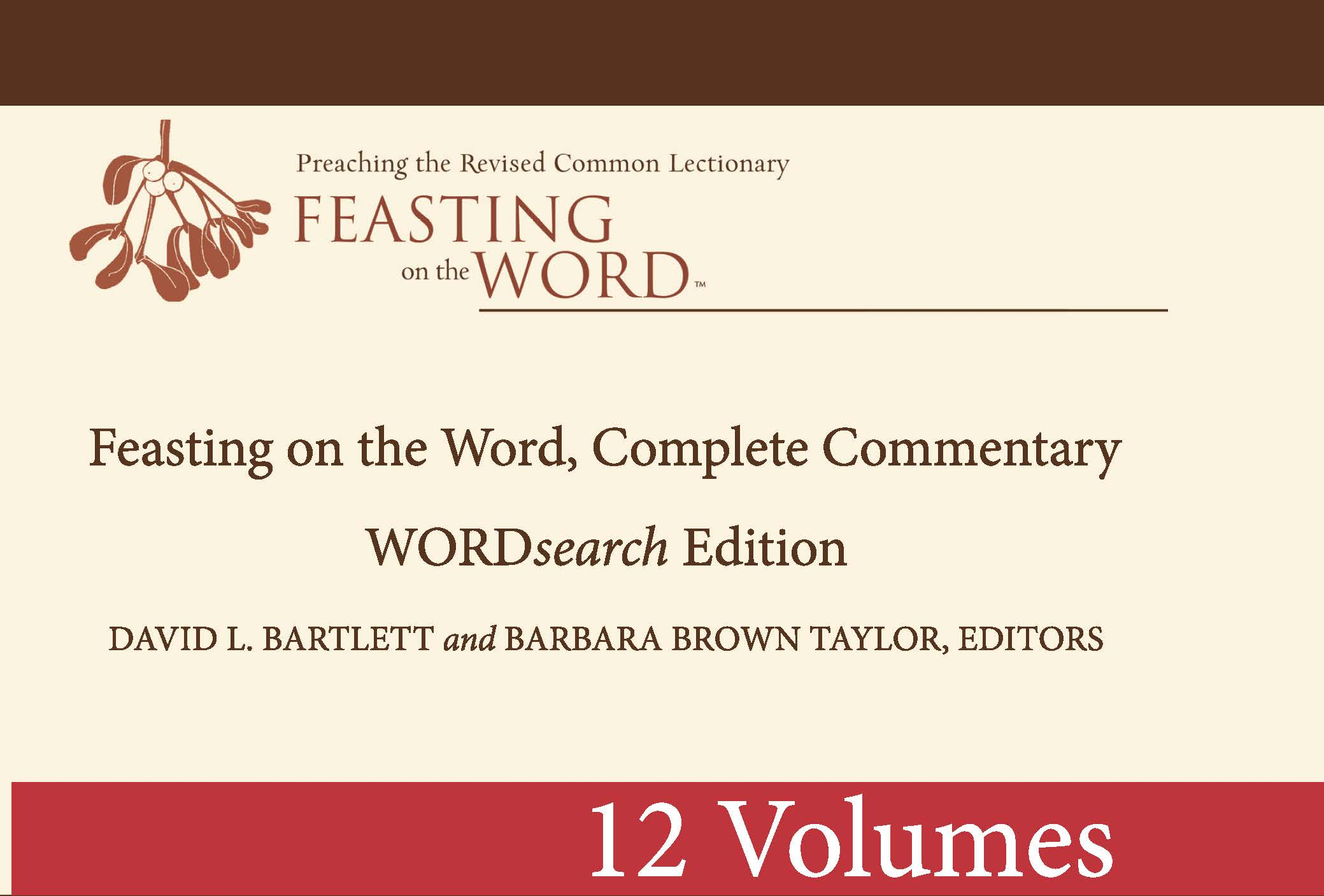 Feasting on the Word, Complete Commentary: WORDsearch Edition