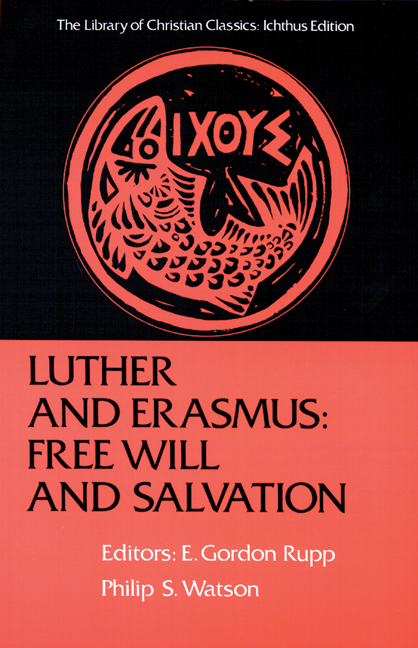 Luther and Erasmus