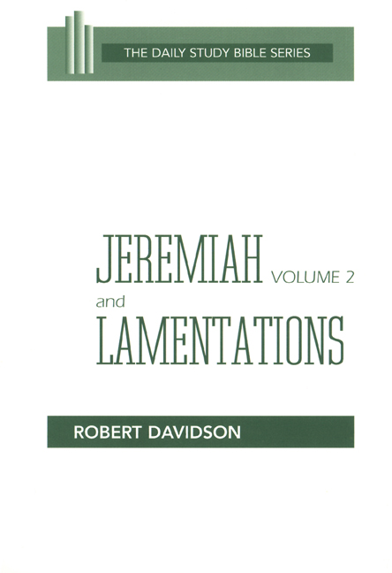 Jeremiah Volume 2 and Lamentations