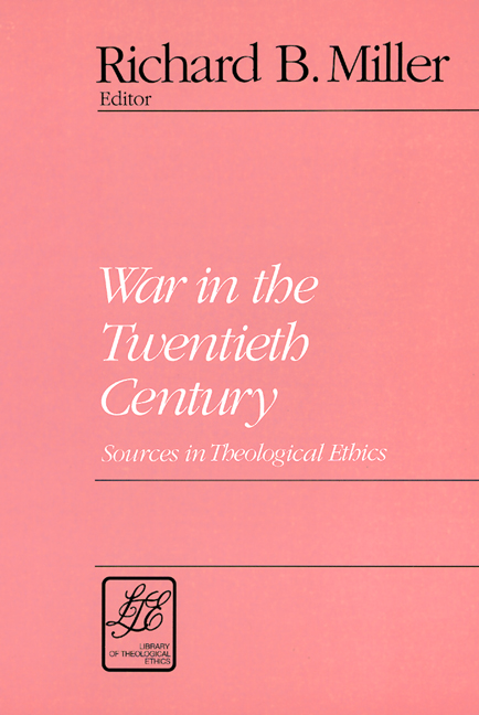 War in the Twentieth Century