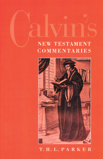 Calvin's New Testament Commentaries
