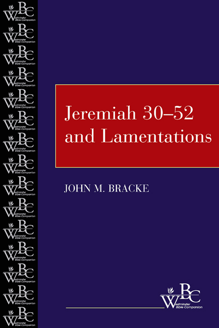 Jeremiah 30-52  and Lamentations