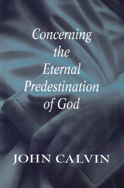Concerning the Eternal Predestination of God