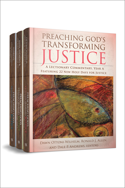 Preaching God's Transforming Justice (Three-Volume Set)