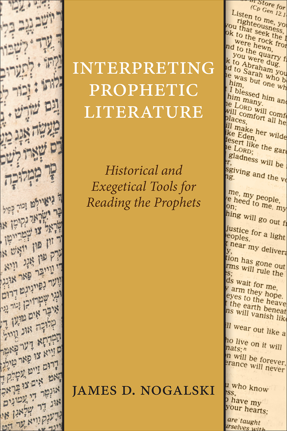 Interpreting Prophetic Literature