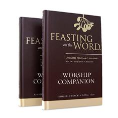 Feasting on the Word Worship Companion, Year C - Two-Volume Set