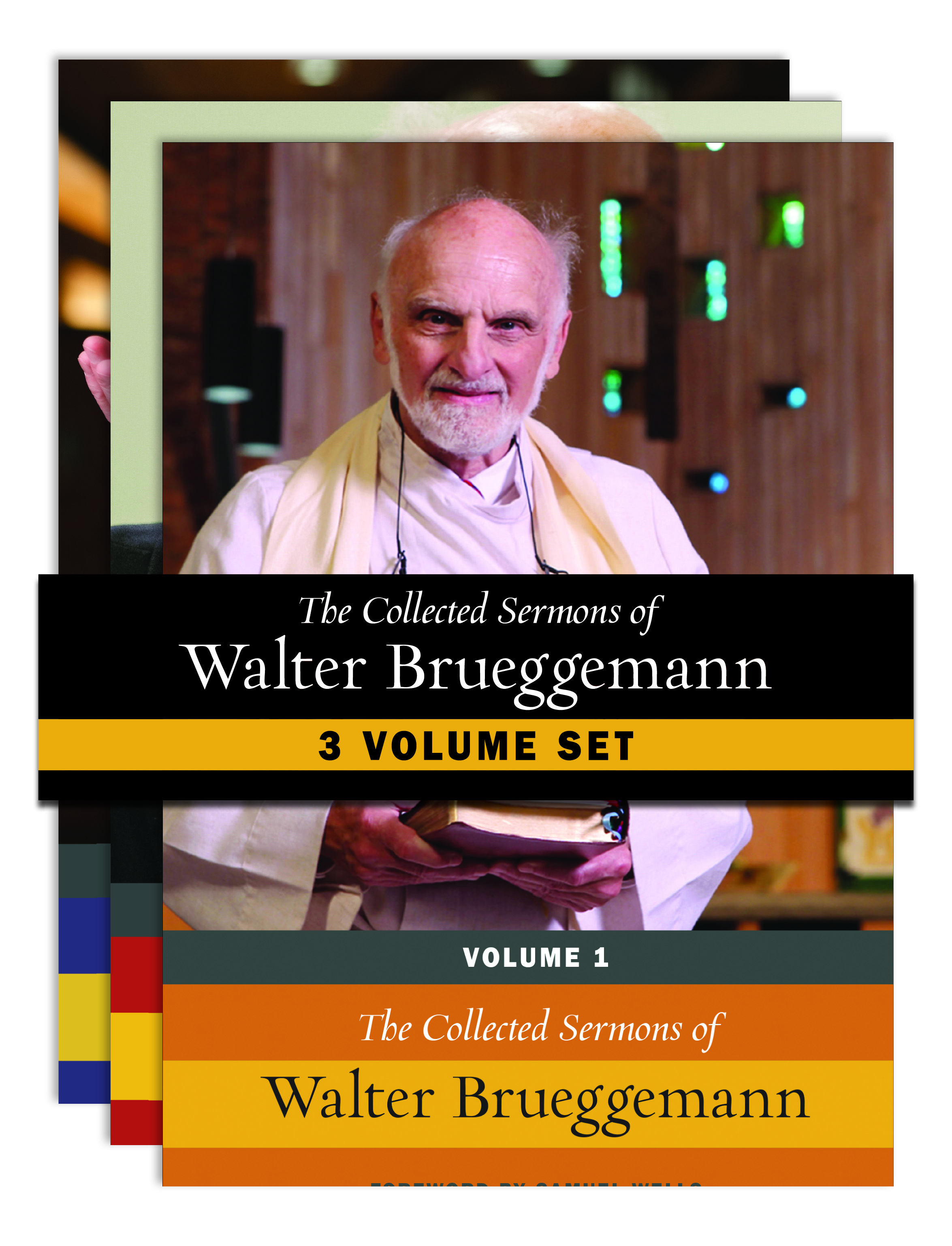 The Collected Sermons of Walter Brueggemann -- Three-Volume Set