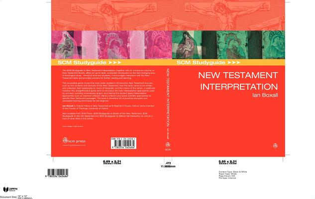 SCM Study Guide to New Testament Interpretation
