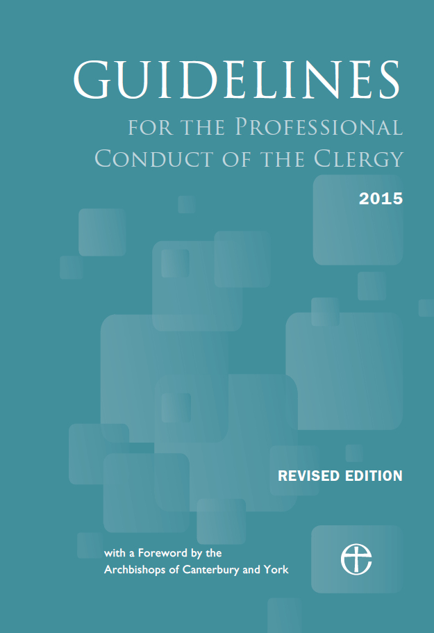 Guidelines for Professional Conduct of the Clergy 2015