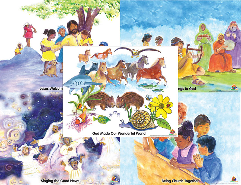 Seasons Growing Faith Poster Set