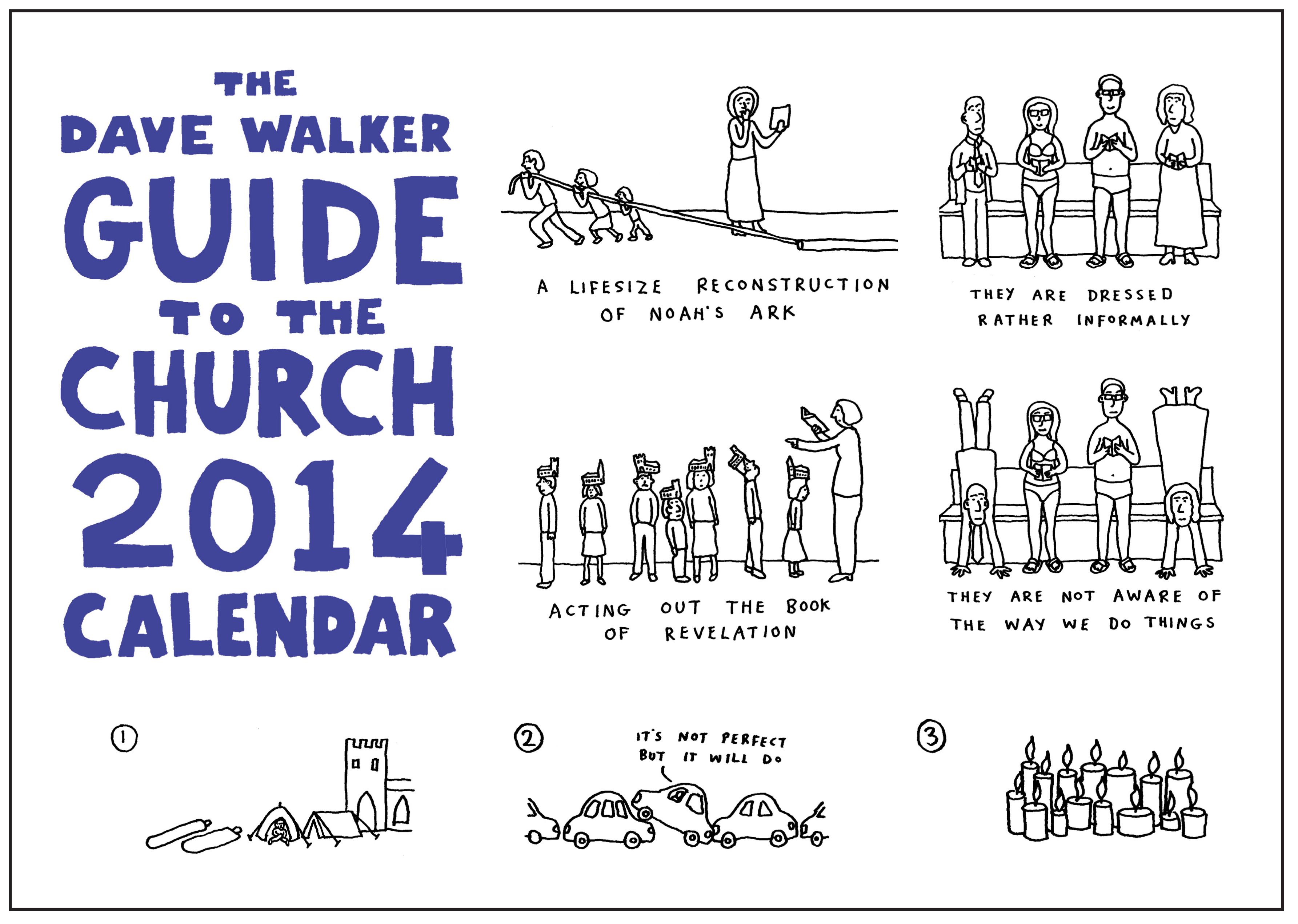 The Dave Walker Guide to the Church 2014 Calendar