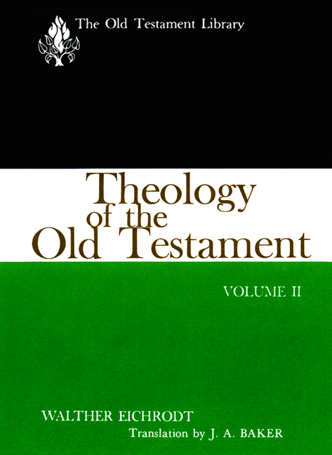 Theology of the Old Testament, Volume Two (1967)