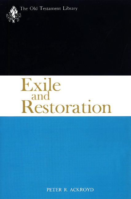 Exile and Restoration (1968)