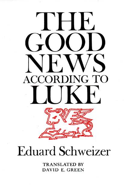 The Good News according to Luke