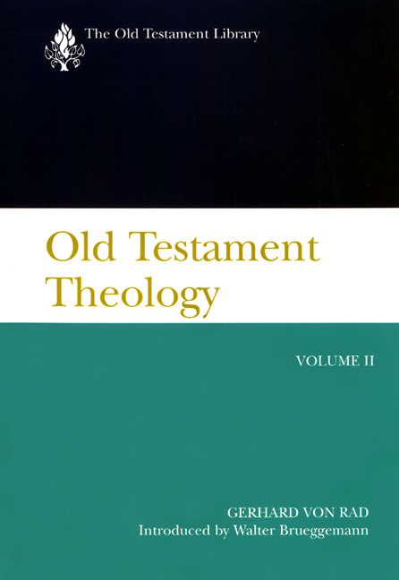 Old Testament Theology, Volume II (2001)