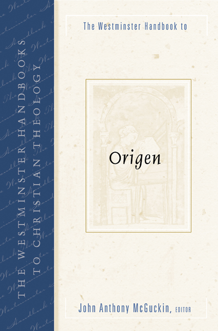 The Westminster Handbook to Origen