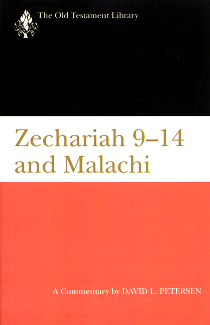 Zechariah 9-14 and Malachi (1995)