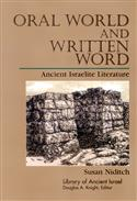 Oral World and Written Word