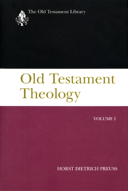 Old Testament Theology, Volume I (1995)