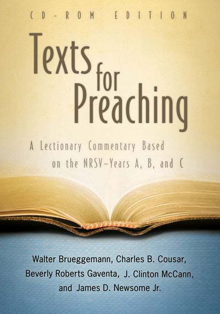 Texts for Preaching, CD-ROM Edition