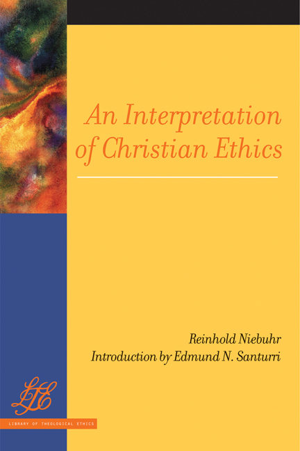 An Interpretation of Christian Ethics