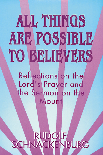 All Things Are Possible to Believers