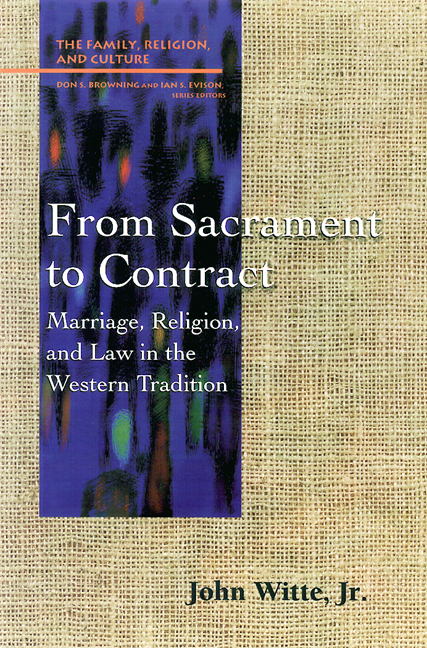 From Sacrament to Contract