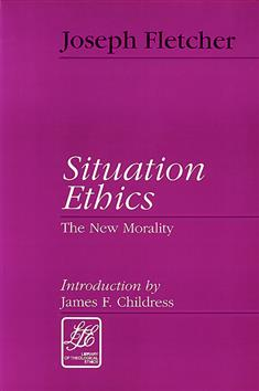 paper on situation ethics Ethics resources for students and teachers ocr a level rs philosophy and ethics ethical theories include kant, natural law, situation ethics, virtue ethics and.