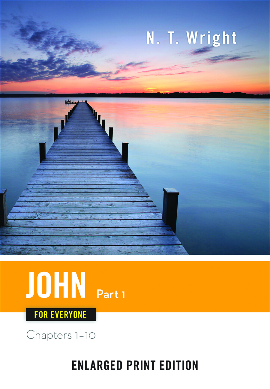 John for Everyone, Part 1-Enlarged Print Edition