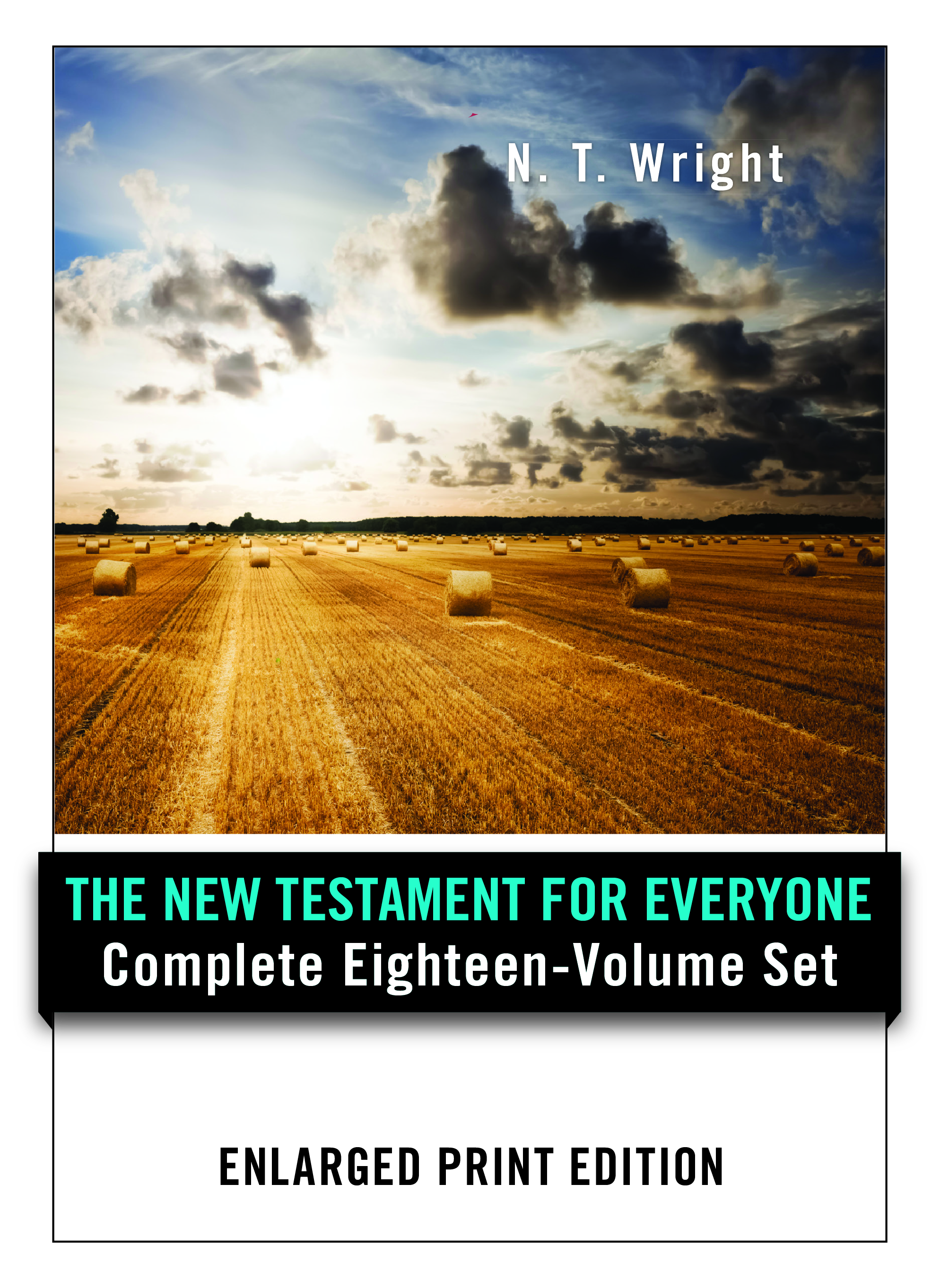 New Testament for Everyone Set - Enlarged Print Edition