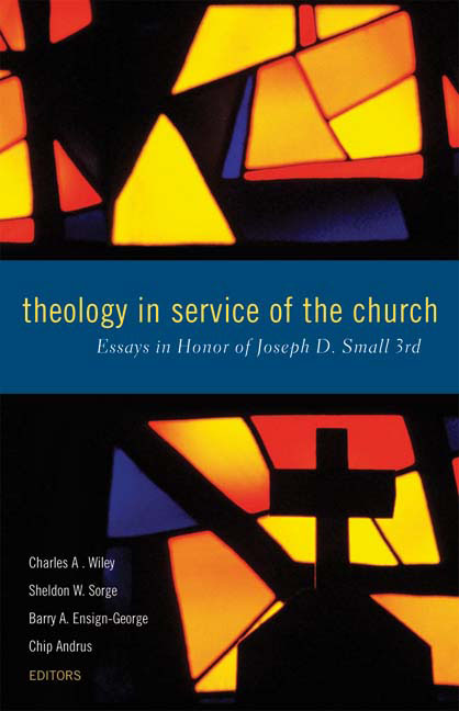 Theology in Service of the Church