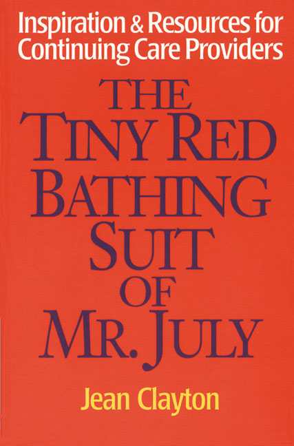 The Tiny Red Bathing Suit of Mr. July